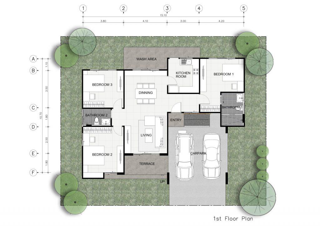 แปลนบ้าน 1 ชั้น Abc 171.jpgre